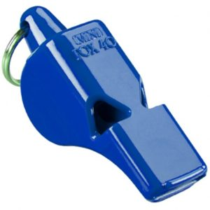 fox-40-mini-pealess-whistle blue